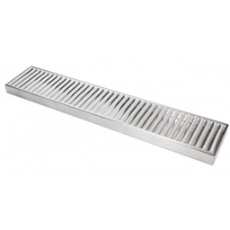 [11323] Bar Mat - Tapis de bar- Inox 50cm x 10cm